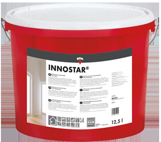 KEIM Innostar - 12,5 Liter - Ultradeckende, hochergiebige & anwendungsfertige Sol–Silikatfarbe für Innen