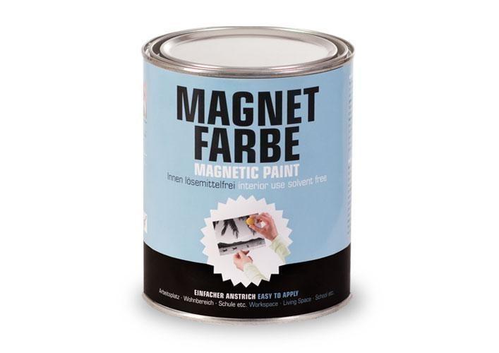 Milacor Magnetfarbe - Für Magnethaftende und beschreibbare Wände