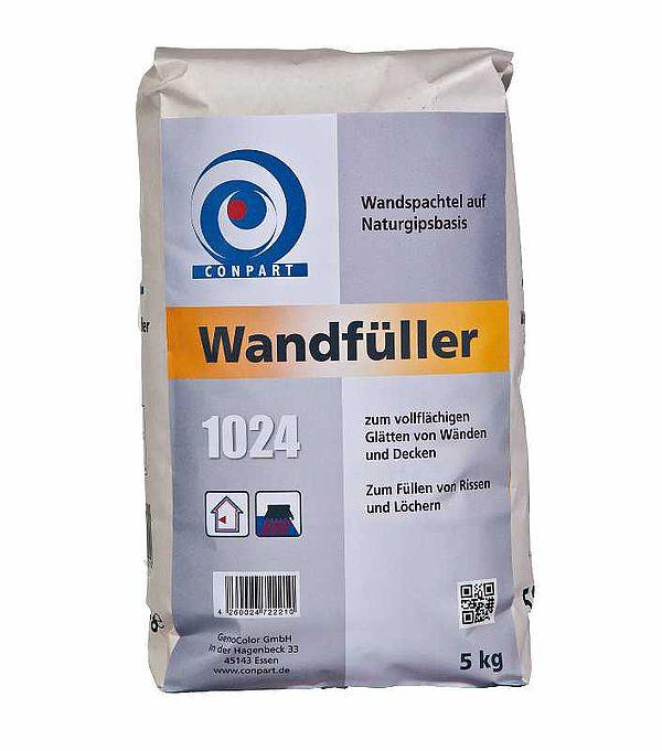 Conpart - Wandfüller 1024 Ergänzungsprodukte Haftputz, Wandspachtelmassen Celluloseverstärkte Gipsspachtelmasse für innen - 25 kg