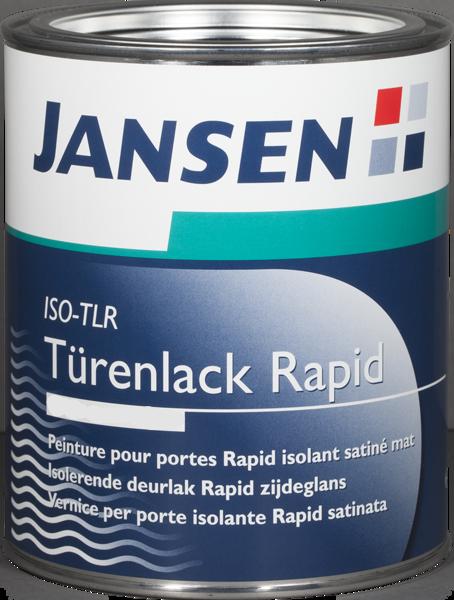 Jansen ISO-TLR Türenlack Rapid 2,5 Liter Weiß Seidenmatt