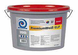 Conpart PremiumWeiß ELF 3040 plus - Hochwertige, doppeldeckende Allround-Innenfarbe - 12,5 Liter