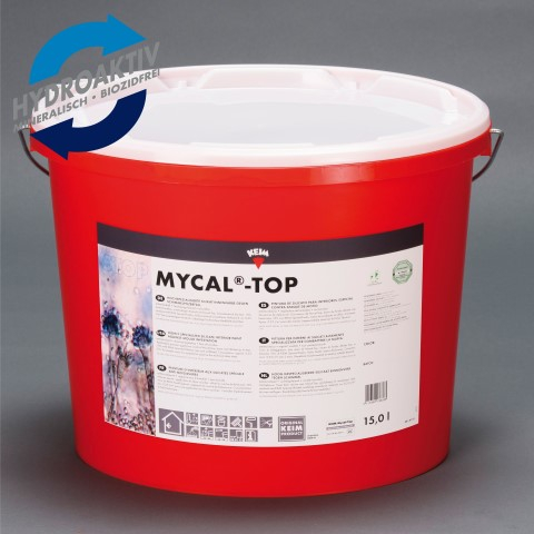 KEIM Mycal Top - 15 Liter Weiß - Zur effektiven Schimmelprävention in Innenräumen