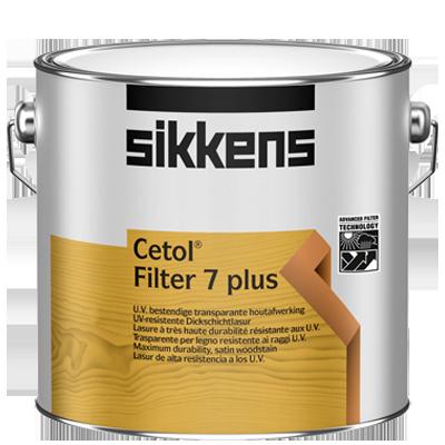 Sikkens Cetol Filter 7 Plus Dickschicht Holzlasur - 2,5 Liter Eiche Dunkel