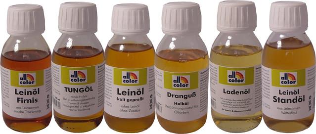 All-color Tungöl - Farbloses Holzöl für Aussen 1 Liter