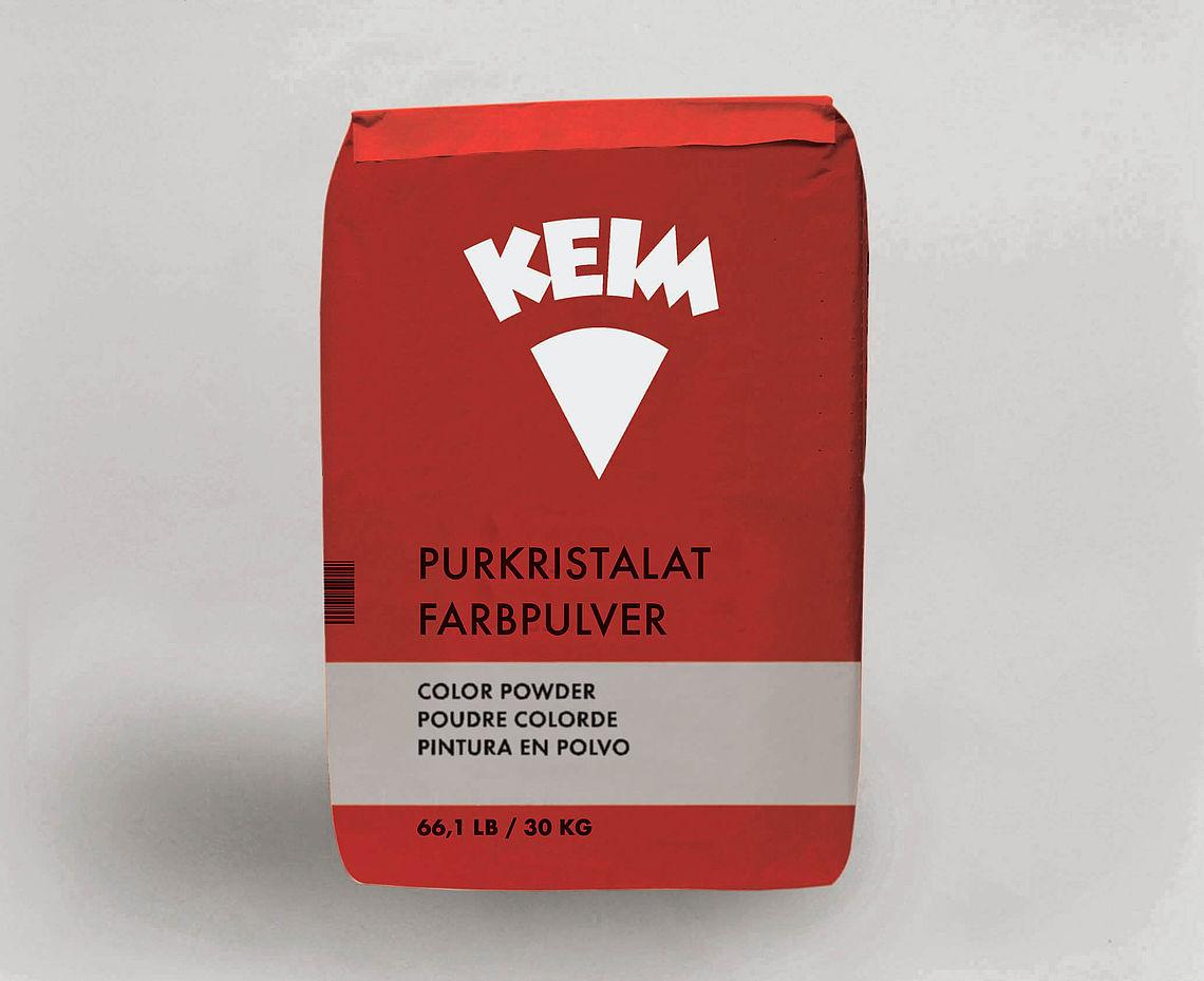 KEIM Purkristalat-Farbpulver - 5 kg Verschiedene Farbtöne - Eine Enscheidung für unerreichte Dauerhaftigkeit